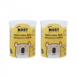 Baby Moby Mini Cotton Buds (2 ea)