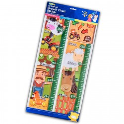 Toybies Pop up growth chart sticker Farm
