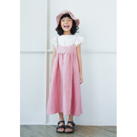 Allday Pink Dress size 6-7 years