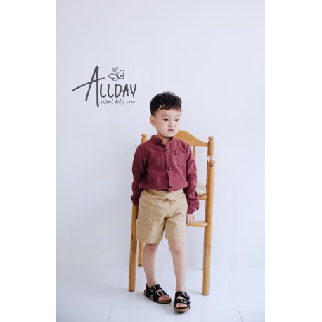 Allday Red long sleeve shirt size 2-3 y