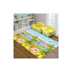 Comflor Play Mat PVC size 210 x 140 x 1.3 cm Pingko Friends A-Z