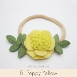 Babybloom Poppy Yellow
