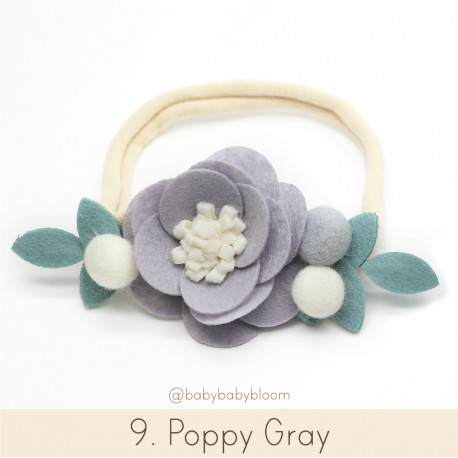Babybloom Poppy Grey