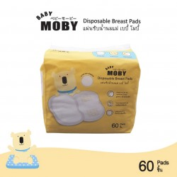 Baby Moby แผ่นซับน้ำนมแบบใช้แล้วทิ้ง Disposable Breast Pads