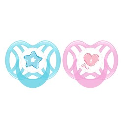 Pur Orthodontic Silicone Soother 0-6 months (1 Pcs.)
