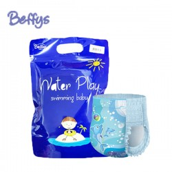 Beffys Blue Diaper  Swimming Pool Size L (10-17kg) 1 pack contains 3 pieces