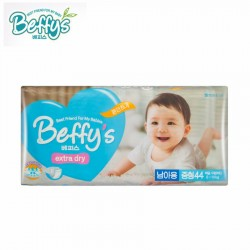 Beffys รุ่นเทป Size M contains 44 pieces (5-10 kg) imported from Korea