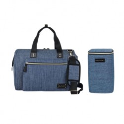 Colorland Thailand TT190 Maternity Diaper Bag + Free Cooler Bag (Navy Blue)