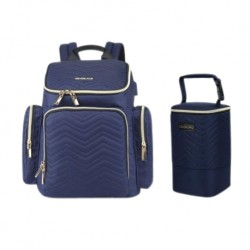 Colorland Thailand Diaper Bag Luxury Series + Free Cooler Bag (BP146) - Navy Blue