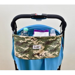 Leeya Storage Bag for Stroller - Digital Military