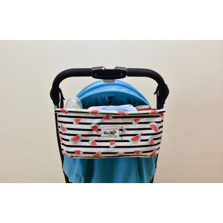 Leeya Storage Bag for Stroller - Watermelon
