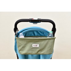 Leeya Storage Bag for Stroller - Green Duck Color