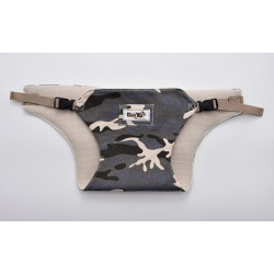 Leeya Portable Baby Harness - Military Grey