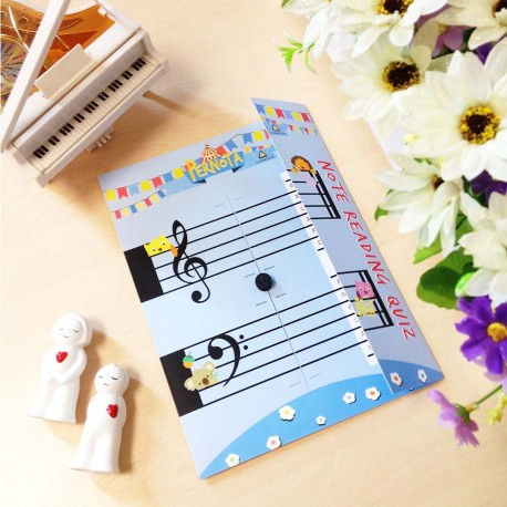 CrafterCave Kids Pernota, An enjoyable tool for improving note reading skill..