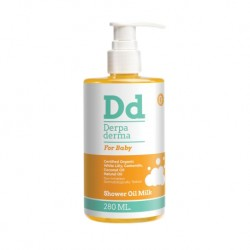 Derpa derma Shower oil organic for dry and sensitive skin (0+)
