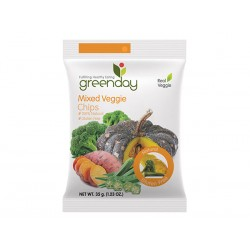 Greenday Mixed Veggie Chips 35 g.