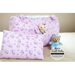 Hush Baby Portable Mini Mattress Pink Unicorn