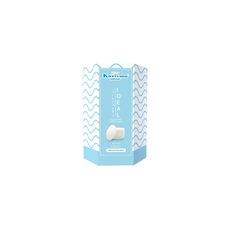 Karisma Ideal Cleansing Cotton Pads 80 แผ่น 2 กล่อง