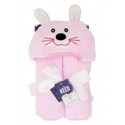 KEED hooded towel - RABBIT