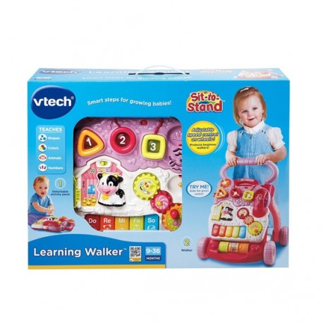 Vtech Sit-To-Stand Learning Walker -Pink