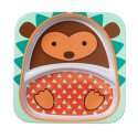 Skip Hop Zoo Divided Plate Hedgehog Style