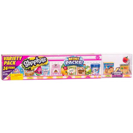 Shopkins ของเล่น S10 Small Variety Mega Pack