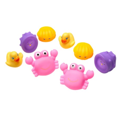 Playgro Bathtime Squirtees (Pink)