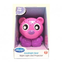 Playgro Goodnight Bear Nightlight Pink