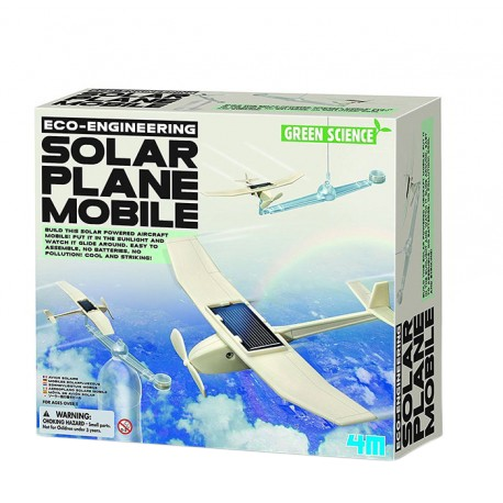 4M ของเล่น Eco Engineering - Solar Plane Mobile