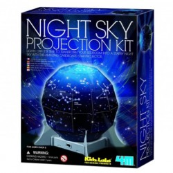 4M ของเล่น Kidz Labs-Night Sky Projection Kit