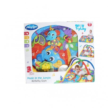 Playgro Music In The Jungle Activity Gym by Kiddo