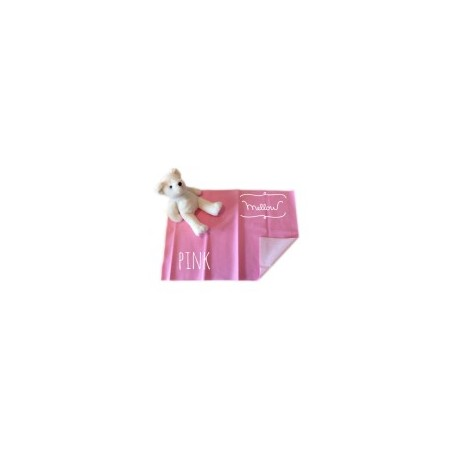 Mellow Quick dry Quick dry Pee Pads, Waterproof Fabric 100% SIZE M (70x100 CM) Pink