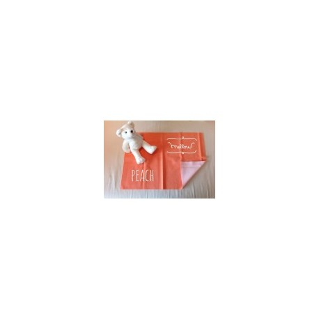 Mellow Quick dry Quick dry Pee Pads, Waterproof Fabric 100% SIZE L (100x140 CM) Peach