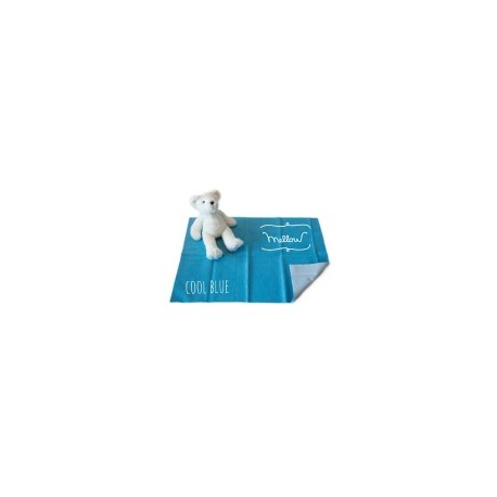 Mellow Quick dry Pee Pads, Waterproof Fabric 100% SIZE S (50x70 CM) Cool Blue