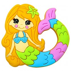 Funzone Mermaid Silicone Teether Toy