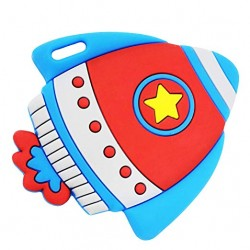 Funzone Rocket Silicone Teether Toy