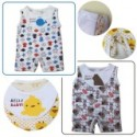 Palm & Pond Body Suit with Apron 100% Cotton 2 Pack No. 4