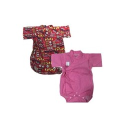 Palm &Pond Japan Style Newborn Suite JINBEI 100% Cotton 2 Pack No.43