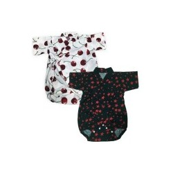 Palm & Pond Japan Style Newborn Suite JINBEI 100% Cotton 2 Pack no. 32