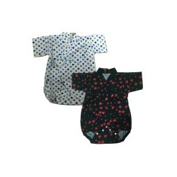 Palm & Pond Japan Style Newborn Suite JINBEI 100% Cotton 2 Pack no. 52