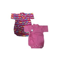 Palm & Pond Japan Style Newborn Suite JINBEI 100% Cotton 2 Pack no.372