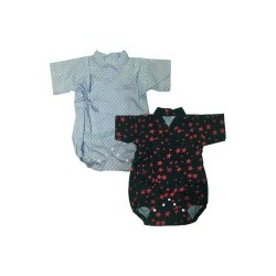 Palm & Pond Japan Style Newborn Suite JINBEI 100% Cotton 2 Pack no. 60