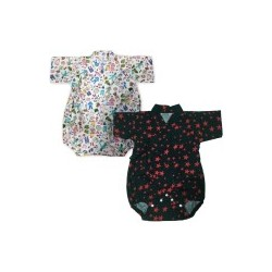 Palm & Pond Japan Style Newborn Suite JINBEI 100% Cotton 2ea/pack no.24