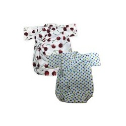 Palm & Pond Japan Style Newborn Suite JINBEI 100% Cotton แพ็ค 2 ตัว รุ่นที่ 287