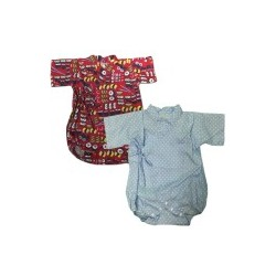 Palm & Pond Japan Style Newborn Suite JINBEI 100% Cotton แพ็ค 2 ตัว รุ่นที่ 44