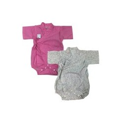 Palm & Pond Japan Style Newborn Suite JINBEI 100% Cotton 2 pcs/pack no.55