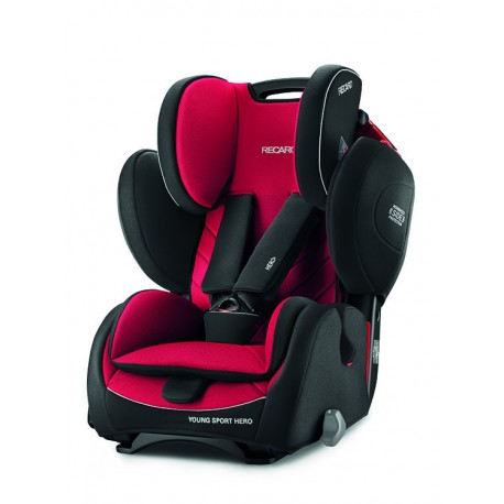 RECARO YOUNG SPORT HERO ASIA - RACING RED