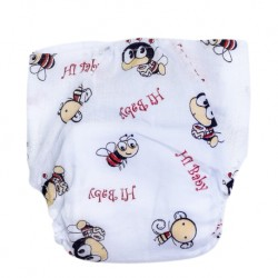 Shawn's Baby Jump Diaper Pants Bee cartoon