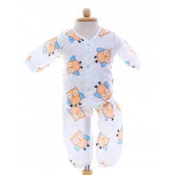 Shawn's Baby Baby Cloth Set Owl cartoon