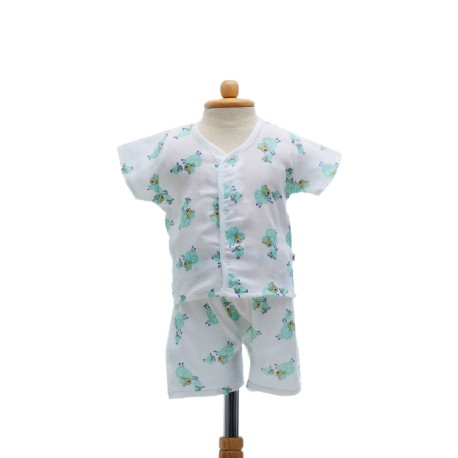 Shawn's Baby Short sleeve shirt with shorts Cartoon Lamb (size M)